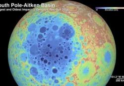 Le immagini riprese dalla sonda Lro