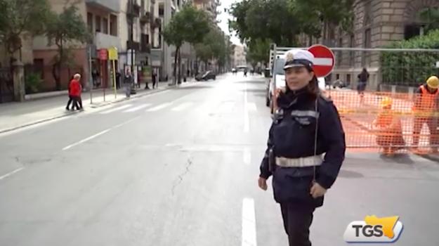 Palermo, lavori al collettore: chiuso un tratto di via Roma