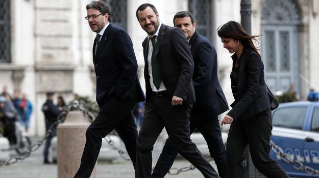 centrodestra, forza italia, Lega, m5s, nuovo governo, Giancarlo Giorgetti, Maria Stella Gelmini, Matteo Salvini, Silvio Berlusconi, Sicilia, Politica