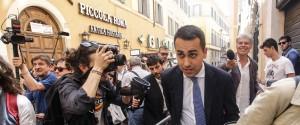 Il leader M5S Luigi Di Maio