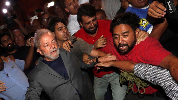 arrestato ex presidente brasile, arresto lula, Lula, Sicilia, Mondo