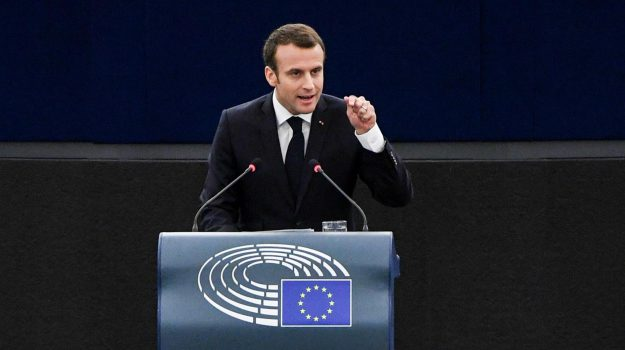 parlamento ue, presidente francia, unione europea, Emmanuel Macron, Sicilia, Mondo