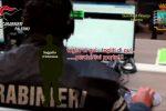 Un fermo immagine tratto dall'operazione congiunta condotta da carabinieri e guardia di Finanza