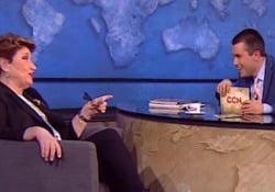 La produttrice discografica ospite di Saverio Raimondo nella prima puntata della nuova stagione di CCN che andrà in onda venerdì alle 23 su Comedy Central (Sky 124)