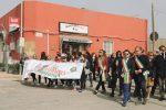 Minacce di morte a Borrometi, in migliaia alla marcia per la legalità a Pachino