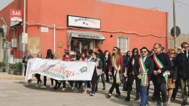 marcia legalità pachino, Minacce Borrometi, Siracusa, Cronaca