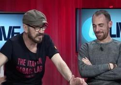 Intervista a Marco Giallini ed Elio Germano, i due protagonisti di «Io sono tempesta», il film di Daniele Luchetti in uscita nelle sale il 12 aprile