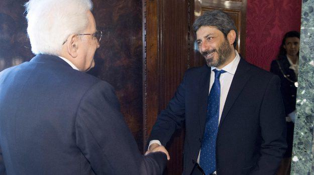 m5s, nuovo governo, pd, Roberto Fico, Sergio Mattarella, Sicilia, Politica