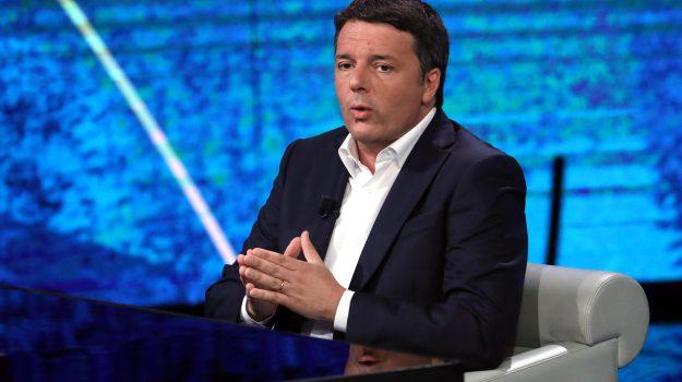 Che tempo che fa, m5s, nuovo governo, pd, Fabio Fazio, Matteo Renzi, Sicilia, Politica