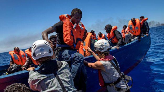 migranti lampedusa, sbarco lampedusa, Agrigento, Cronaca