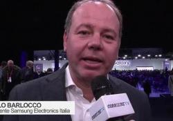 Il telefono è diventato un «telecomando della nostra vita», spiega Carlo Barlocco, presidente Samsung Italia