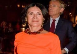 L'imprenditrice e stilista, figlia del celebre artista, nella Capitale per l'inaugurazione della mostra dedicata al padre