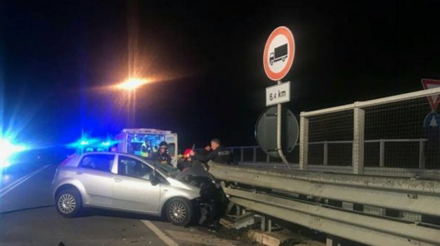 incidente statale 640, Sicilia, Cronaca