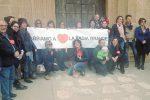 Sciacca, sit in di protesta contro la chiusura della scuola della Badia