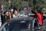 Attacco in Siria, proteste a Damasco contro gli Usa e gli alleati a sostegno di Assad