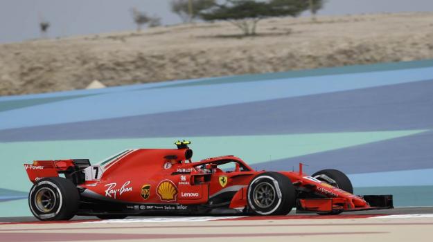 Ferrari, Gp Bahrain, Kimi Raikkonen, Sebastian Vettel, Sicilia, Sport