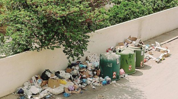 rifiuti abbandonati trapani, Trapani, Cronaca