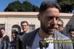 """Il terzino del Palermo Rispoli al carcere Malaspina: """"Giusto dare un'altra possibilità a chi sbaglia"""""""