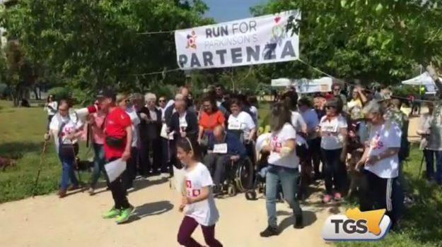 """Al Parco Uditore di Palermo la corsa """"Run for Parkinson"""""""