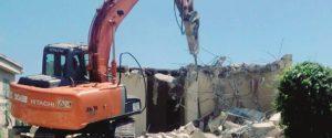 Abusivismo a Licata, nuova ordinanza di demolizione