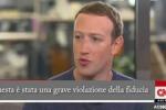 Scandalo Facebook, Zuckerberg si scusa: «Mi dispiace»