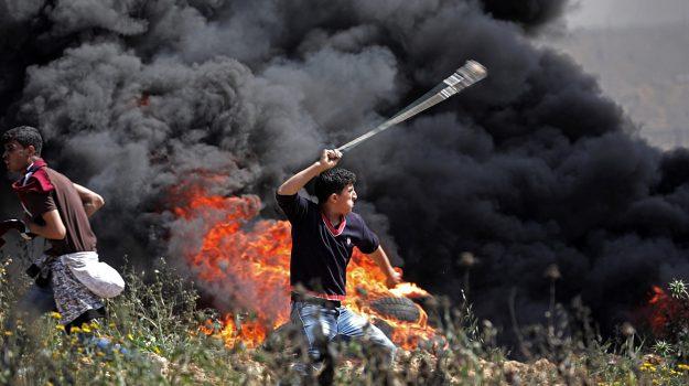 scontri gaza, scontri israele palestina, Sicilia, Mondo