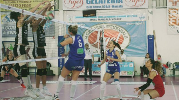 sigel marsala, volley a/2, Trapani, Sport