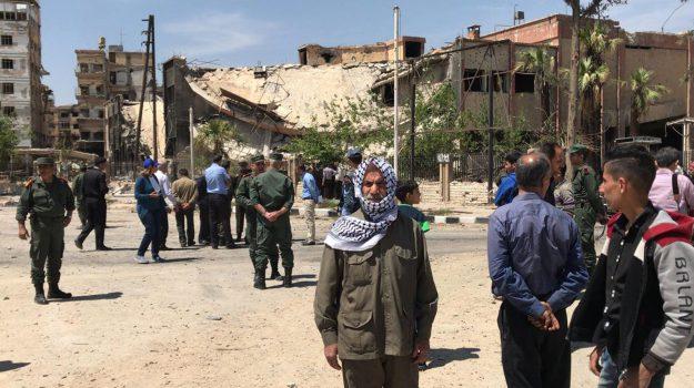 attacco in Siria, Sicilia, Mondo