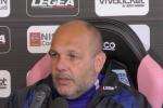 """Palermo, Tedino: """"Il Pescara? Bisognerà giocare con molta attenzione, sono pericolosi"""""""