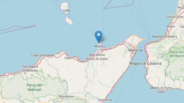 terremoto eolie, Messina, Cronaca