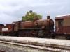 """Le immagini del treno del """"Padrino"""" che lascia Castelvetrano per essere restaurato"""