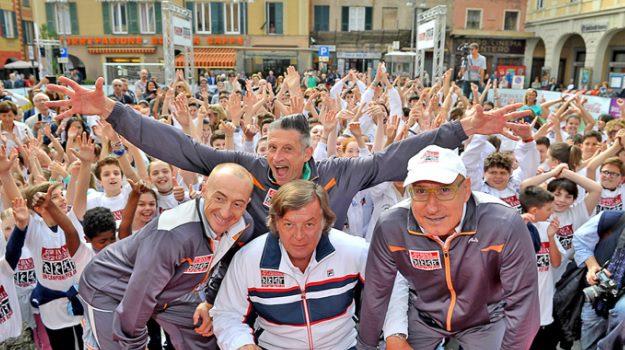 catania, un campione per amico, Adriano Panatta, Andrea Lucchetta, Ciccio Graziani, Jury Chechi, Catania, Sport