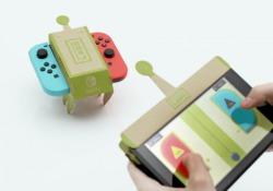 I Toy Con sono giochi analogici che prendono vita con i videogiochi della consolle