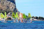 Campionato europeo tavole a vela Techno 293 Plus a Mondello, bene gli azzurri Renna e Speciale