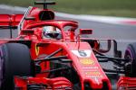 Prima fila Ferrari nel Gp della Cina: il video del giro record di Vettel per la pole