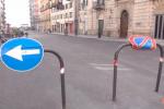 Palermo, le immagini da via Amari liberata dalle transenne