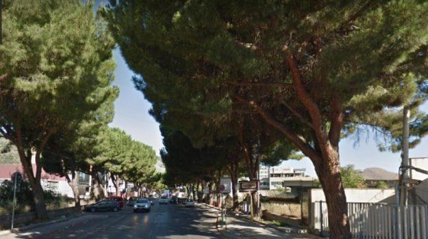 cassonetti via ugo la malfa, rap, rifiuti, Palermo, Cronaca
