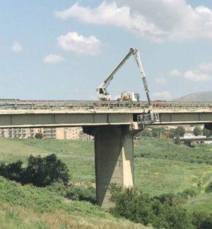 Viadotto Cansalamone a Sciacca, via alle prove di tenuta