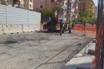 Palermo, viale Lazio saluta il cantiere: via le barriere, le foto degli ultimi interventi