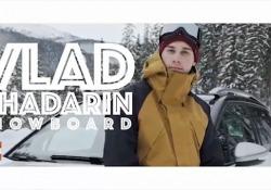 Il giovane snowboarder nato in Siberia fa parte del Citroën Unconventional Team 2018