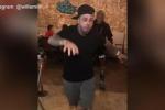 Will Smith, ballo scatenato al ristorante