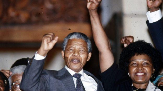 Mandela Sudafrica, nelson mandela, Winnie Mandela, Sicilia, Mondo