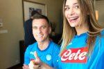 """Jessica, fidanzata diMilik, innamorata di Napoli: """"Credo nello scudetto"""""""