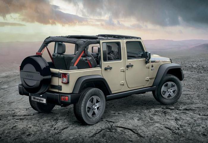 Jeep celebra i 10 anni di wrangler serie jk con 3 serie speciali
