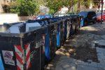 Dopo l'emergenza rifiuti, strade ripulite a Mondello