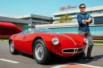 Anche Piero Pelù, con altri vip, nella squadra Alfa Romeo alla Mille Miglia 2018