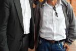 Da sinistra,  Andrea Illy e Walter Mendoza in Colombia