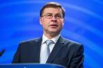 Dombrovskis, monitoraggio conti Italia prosegue