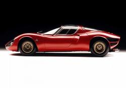 Presentata nel 1967, l'Alfa Romeo 33 Stradale stata prodotta in soli 18 esemplari
