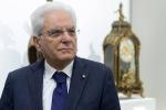"""Mattarella: """"Serve più senso di responsabilità dalla politica, pesano i segnali di tensione"""""""